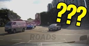 Rejtélyes baleset! Te látod, honnan jött a kocsi, aminek nekiment a BMW? – VIDEÓ