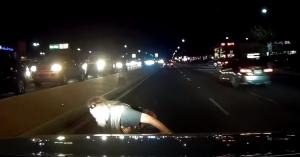 Az autós órákig remegett ezután: mikor egyetlen másodpercen múlik az élet – VIDEÓ