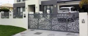 Egyedi kerítés, kapu vagy korlát? A FiberLasernél csak a képzelet szabhat határt igényeinek