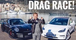 Nico Rosberg összeugrasztott egy Porsche 911 GT2 RS-t és egy Tesla Model 3-at egy gyorsulási versenyre! – VIDEÓ