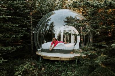 Ezt a buborékhotelt imádni fogod