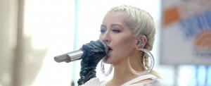 Retró felvétellel ünnepelt Christina Aguilera