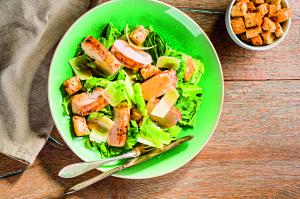 Gyors Cézár-saláta
