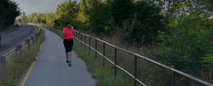 Őzek, mókusok és egy boldog futó