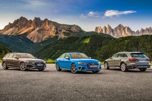 Újult erővel – Audi A4 és S4 menetpróba