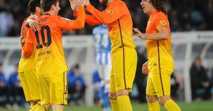 UEFA: Barcelona-fölény az Évszázad álomcsapatában