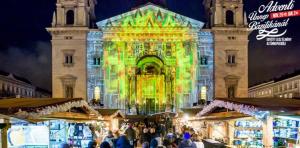 A Bazilika előtti adventi vásár Európa tíz legjobbja között