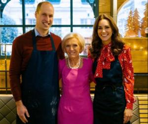 Katalin hercegné és Vilmos herceg saját főzőműsort kap