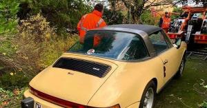 Mókusok tették tönkre ezt az 1974-es 911-est, a Porsche lett a megmentő – KÉPEK