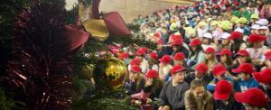 Nyolcszáz gyerek ünnepelte a karácsonyt az Országházban