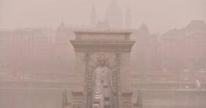Többfelé tovább romlott a levegőminőség
