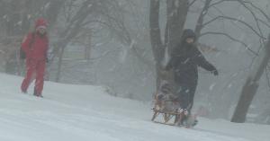 Kékestetőt is beborította a hó (fotók)