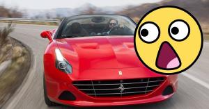 Ráfáztak a rongáló tinik, ilyen egy 2 millió forintos szelfi egy Ferrarival – KÉP
