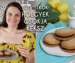 Süti titkok Orsitól: így készül a legédesebb húsvéti keksz, a hölgyek csókja