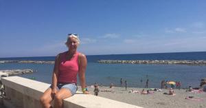 Stieber Mercédesz már úszott idén a Földközi-tengerben