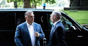 Orbán Viktor reggel részt vett az Operatív törzs ülésén