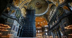 A Hagia Szophia mecsetté alakítása inkább belpolitikai célú