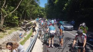 Lovassy Krisztián: Én még ennyi vérző embert kerékpárversenyen nem láttam