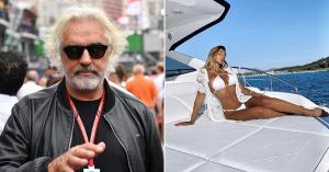 Flavio Briatore újra szerelmes, ezúttal egy 24 éves modellbe – képek