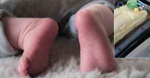 Hogy tehetett ilyet? Fagyállót itatott a 18 napos csecsemővel a kegyetlen férfi