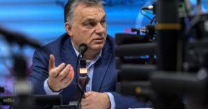 Orbán Viktor: nálunk a helyzet még istenes