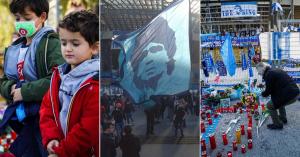 Ma vesznek végső búcsút Diego Maradonától, az egész világ gyászol – Fotók!