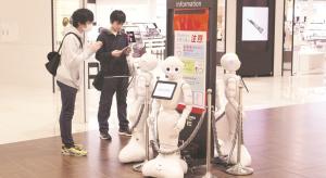 Emberi érzelmeket lekövető robotokat mutattak be