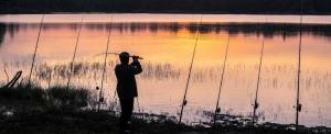 Naponta egy rapsic – sokan horgásztak a zavarosban a Balatonnál