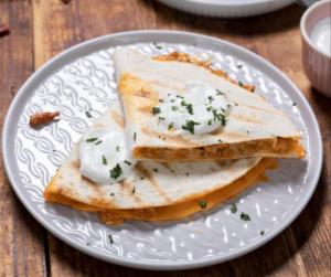 Szaftos, darált húsos tortilla - sok-sok sajttal!