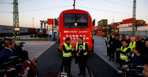 Fellendült a kínai vasúti áruforgalom a Selyemúton