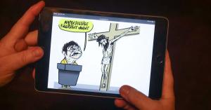 Büntetlenül zajlik a kereszténygyalázás