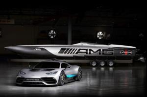 Még kész sincs a Mercedes-AMG Project One, de már van hozzá passzoló motorcsónak
