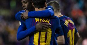 Barcelona: Dembélé már a nyáron távozhat, Messi örül ennek