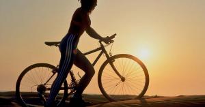 A testünk így reagál 60 percnyi intenzív bringázás során