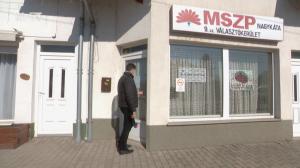 Kémkamerát szereltek az MSZP irodájába