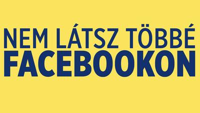 Technikai hiba volt a politikai tartalmak visszafogása a Facebookon