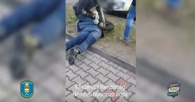 Letartóztattak egy pedofil férfit Győrben – rendőrségi videó az elfogásról