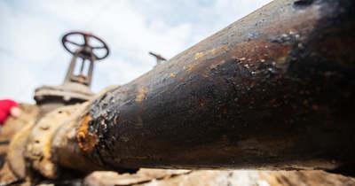 Elvágtak egy gázvezetéket Kondoroson
