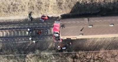 Megrázó videó a halálos vonatbaleset helyszínéről