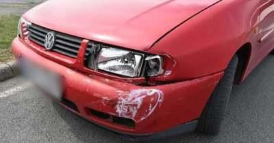 Két autó ütközött a zalaegerszegi körforgalomban