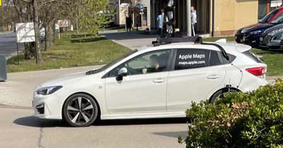 Szolnokon is lencsevégre kapták az Apple-autót