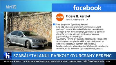 Szabálytalanul parkolt Gyurcsány Ferenc