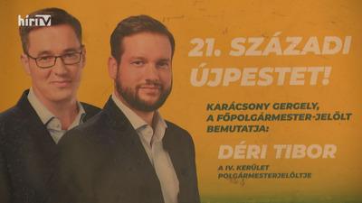 Fővárosi kampányplakátok a Kerepesen lehelyezett illegális hulladékban