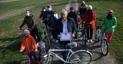 Ez a zalai kisközség nyerte el a Haladó kerékpárosbarát település címet