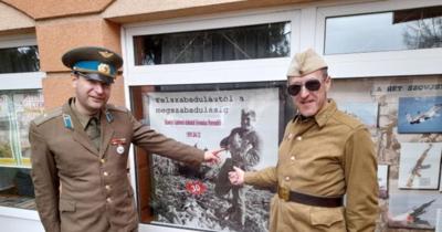 Hazaküldték a szovjet katonákat Herendről