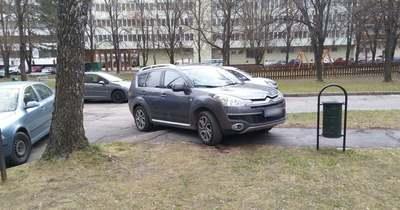 Így parkoltok ti – Zalaegerszeg