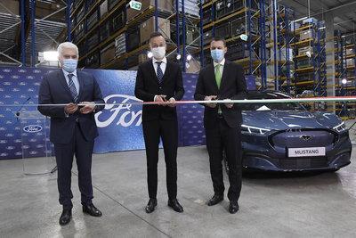 Átadták Magyarország legújabb autóipari beruházását