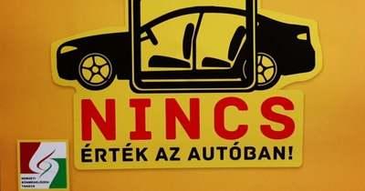 Gépjárműlopás, gépkocsifeltörés: íme, megyénk rendőreinek megelőzési tanácsai