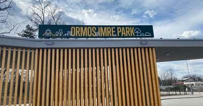 Várhatóan májusra végeznek a szolnoki Ormos park kialakításával