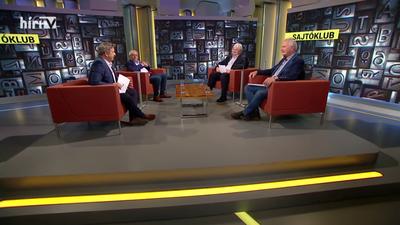 Sajtóklub: Elképesztő, hogy a baloldal hova jutott az elmúlt egy évben